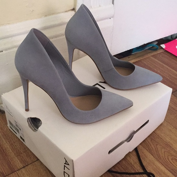 4c32577299d Aldo Shoes - Aldo Cassedy Pumps in light blue